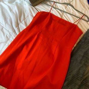 Tobi red bodycon dress